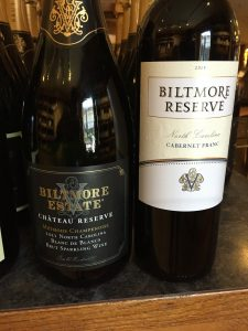 My two favorite NC-only wines from Biltmore Estate