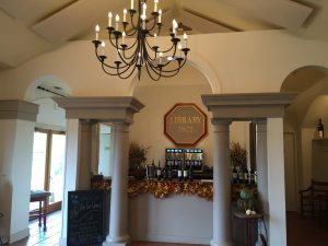 The 1821 Library Tasting Room at Barboursville Vineyards